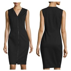 Elie Tahari mila zip front dress